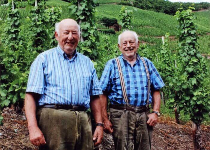 My favorite part of Leading Between the Vines: Alfred and Rolf Merkelbach.