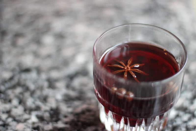 Need an easy mulled wine recipe? This one has a twist.