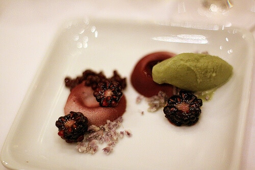 blackberry mousse