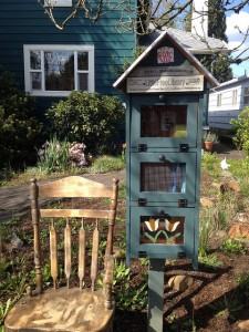 little free library portland oregon