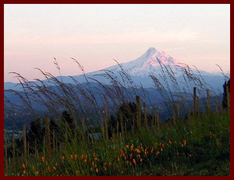 underwood mountain mount hood