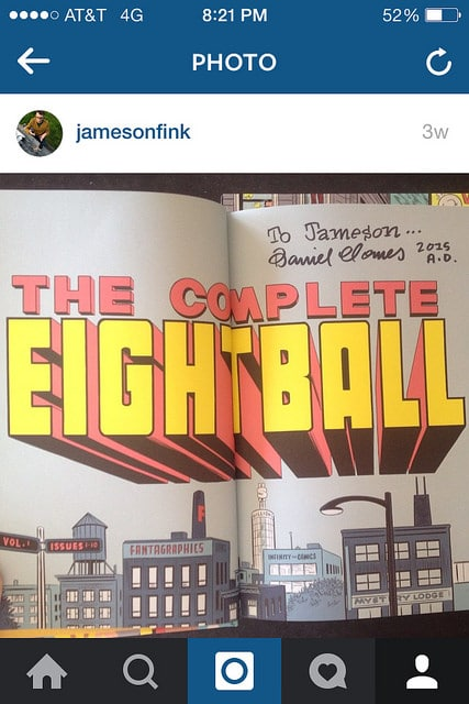 the complete eightball daniel clowes
