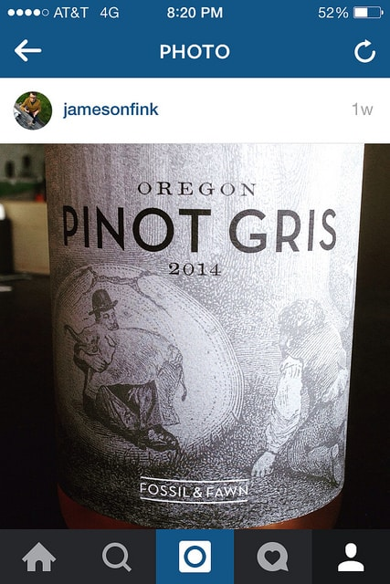 Fossil & Fawn Pinot Gris