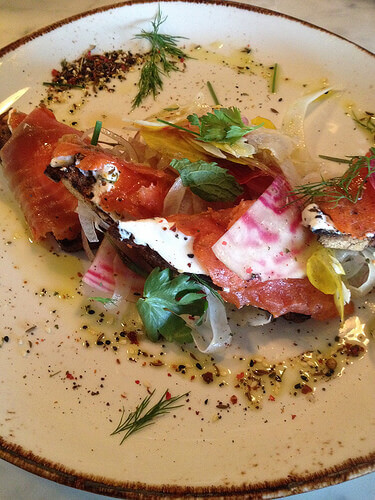 salmon gravlax westward seattle