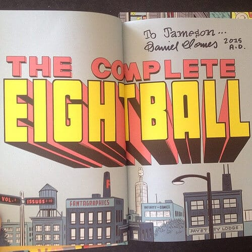 the complete eight ball daniel clowes