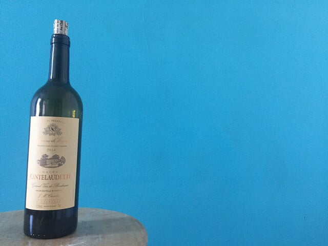 The Chateau Cantelaudette is a 100% Merlot from Bordeaux.