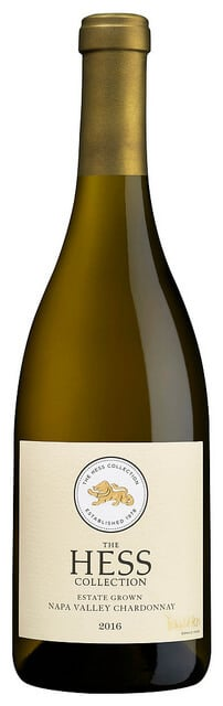 The Hess Collection Chardonnay is judiciously oaked.