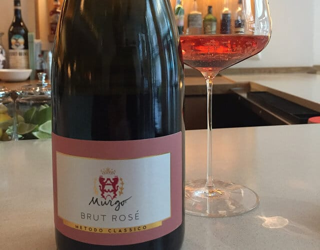 The Murgo Brut Rosé is made from 100% Nerello Mascalese and is a delicious bargain.
