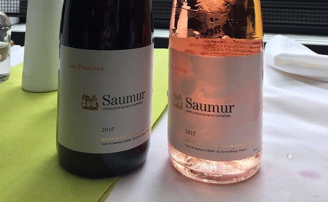 Loire Cabernet Franc in red and rosé form.