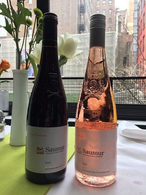 A duo of Loire Cabernet Franc from Saumur.