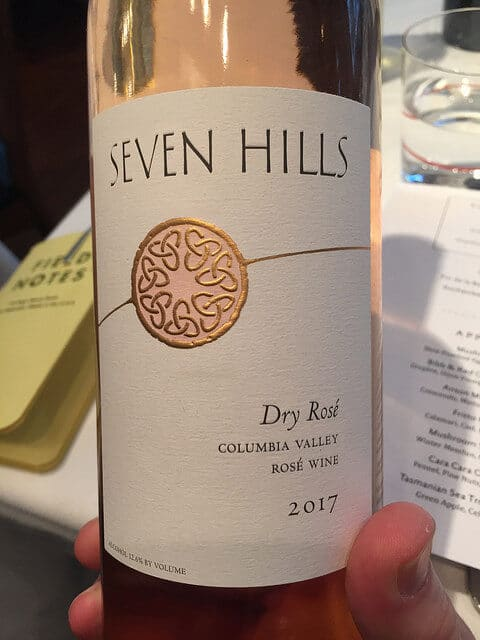 The Seven Hills Winery Rosé is one of Washington's best.