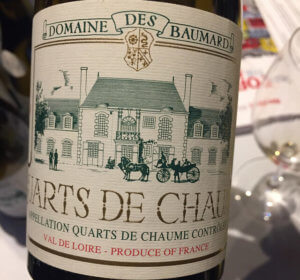 Baumard Quarts de Chaume is a wine first, a sweet wine second.