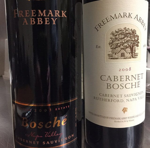 The Freemark Abbey Cabernet Bosché is a Napa classic.