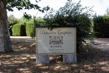 The HQ where Domaine Tempier Rosé is made.