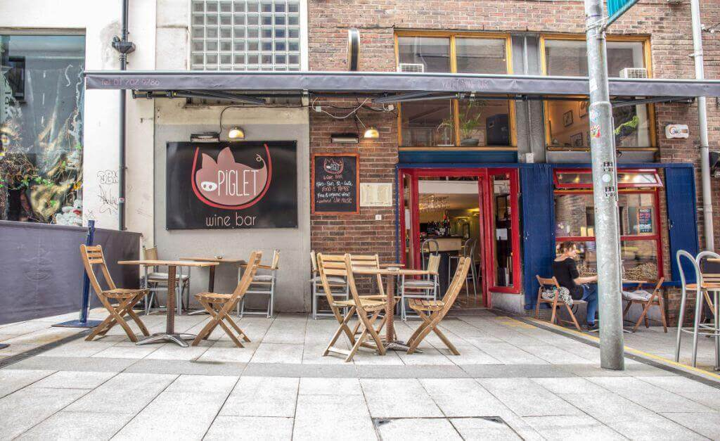 Piglet Wine Bar in Dublin
