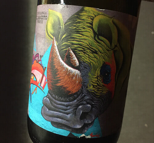 The Testalonga El Bandito Cortez is a Chenin Blanc from South Africa.