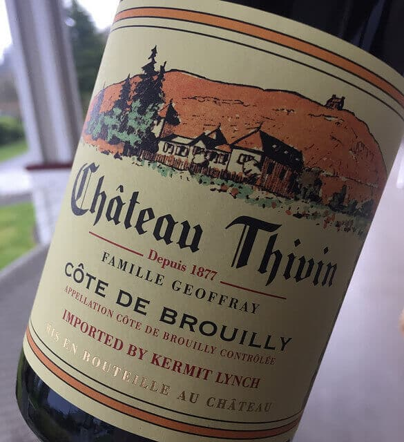 If you're looking for holiday wines, Chateau Thivin makes fantastic Cru Beaujolais.