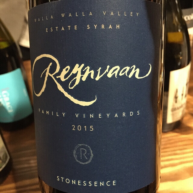 Reynvaan Family Vineyards Stonessence Syrah