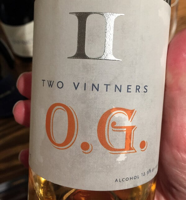 Two Vintners OG orange wine
