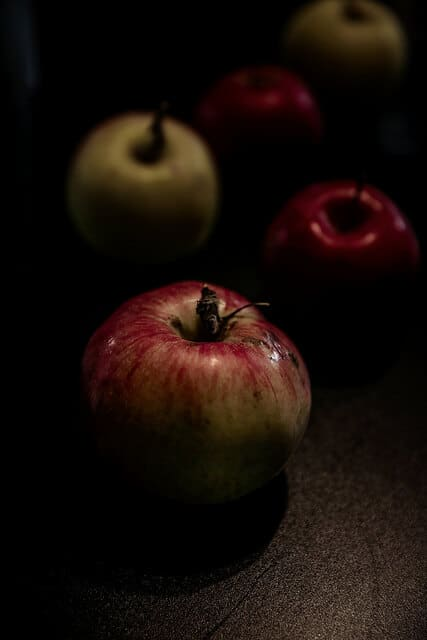 One of the apples that goes into Eden Specialty Ciders.