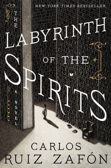 Pair The Labyrinth of the Spirits with a nice Spanish white wine.
