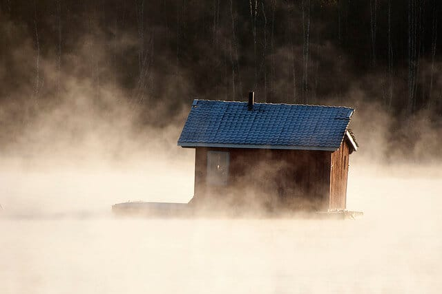 If you are in this cabin, what are good cold weather wines?