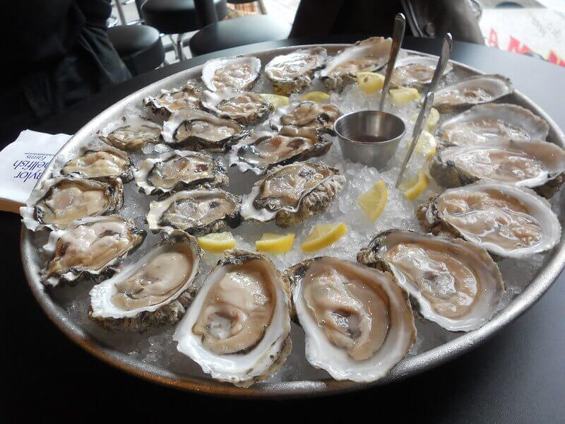 Oysters and red wine?!? Say it ain't so.