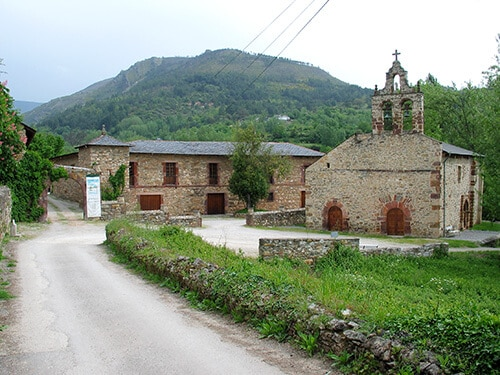 Monastery at Bodegas Godeval, a notable producer of Godello.